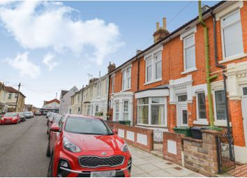 Thumbnail 3 bed terraced house to rent in Kimberley Road, Southsea