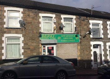 Thumbnail Retail premises for sale in Thomas Street, Tonypandy