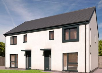Thumbnail 3 bed semi-detached house for sale in The Cameron - Plot 35, Devongrange, Sauchie, Alloa, Clackmannanshire