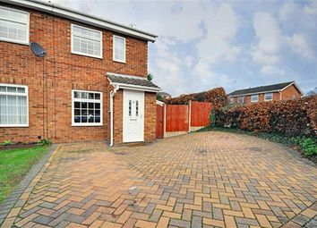 Thumbnail 2 bed semi-detached house for sale in Stanway Close, Worcester