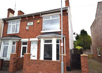 Thumbnail 3 bedroom semi-detached house for sale in Marlborough Road, Kirkby-In-Ashfield, Nottingham