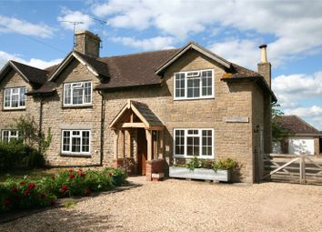 Thumbnail 4 bed semi-detached house to rent in Wick Hill, Bremhill, Calne, Wiltshire
