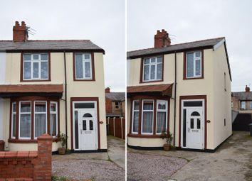 Thumbnail 3 bedroom end terrace house for sale in Shetland Road, Blackpool