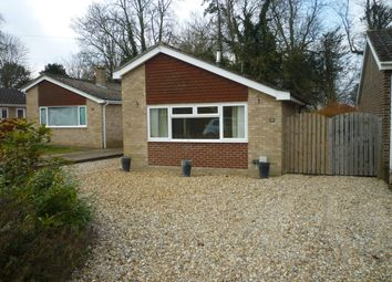 Thumbnail 2 bed bungalow to rent in Arrowhead Drive, Lakenheath, Brandon