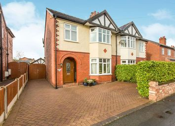 Thumbnail 3 bed semi-detached house for sale in Mayfield Drive, Cuddington, Northwich