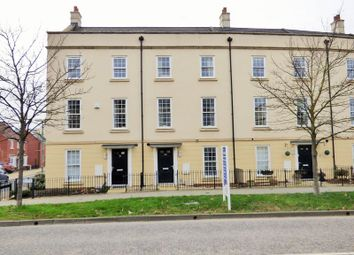 Thumbnail 3 bed town house for sale in Hazel Way, Coopers Edge, Gloucester