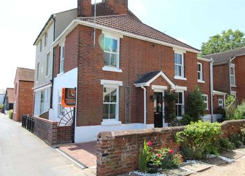 Thumbnail 3 bed semi-detached house for sale in High Street, Rowhedge, Colchester