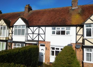 Thumbnail 2 bed terraced house for sale in Longlands Lane, Market Drayton