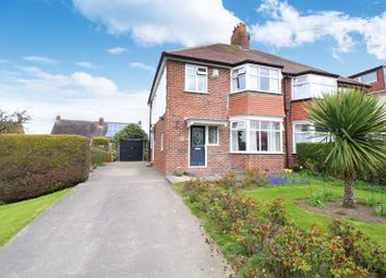 Thumbnail 3 bed semi-detached house for sale in North Leas Avenue, Scarborough
