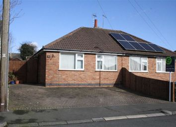 Thumbnail 2 bed semi-detached bungalow for sale in Carmen Grove, Groby, Leicester