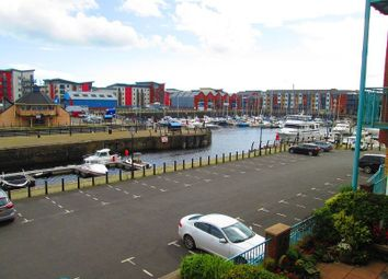 Thumbnail 3 bedroom maisonette for sale in Pocketts Wharf, Maritime Quarter, Swansea, City & County Of Swansea.