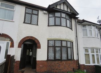 Thumbnail 3 bed terraced house to rent in William Bristow Road, Coventry