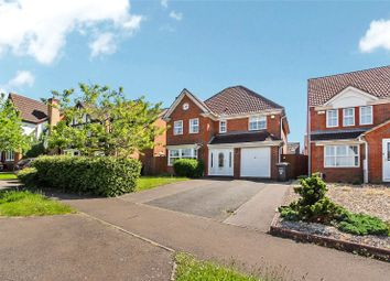 Thumbnail 4 bed detached house for sale in Flamsteed Drive, Hinchingbrooke, Huntingdon