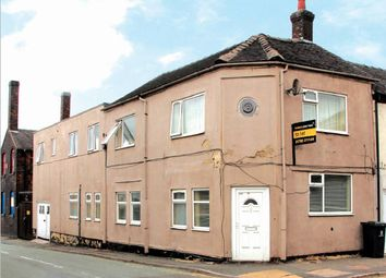 Thumbnail 3 bed block of flats for sale in 185 And 185A Uttoxeter Road, Longton, Staffordshire