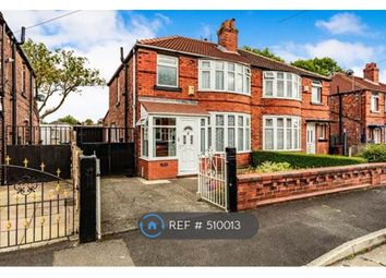 Thumbnail 3 bedroom semi-detached house to rent in Leighbrook Road, Manchester