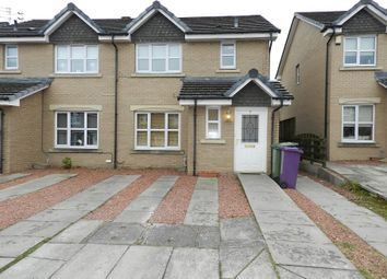 Thumbnail 3 bed semi-detached house for sale in Bowhouse Drive, Highfield Park, Glasgow