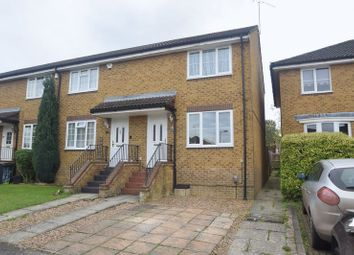 Thumbnail 2 bedroom end terrace house for sale in Whitwell Close, Luton
