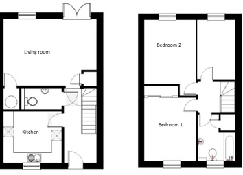 Thumbnail 3 bed end terrace house for sale in Farriers Way, Widegates, Looe, Devon