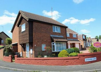 Thumbnail 4 bed detached house for sale in Wedmore Close, Duston, Northampton