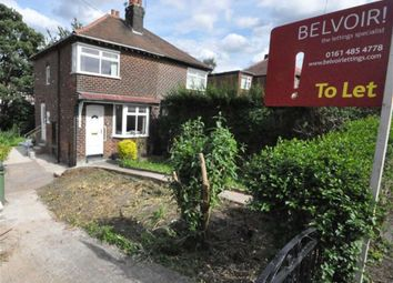 Thumbnail 2 bed semi-detached house to rent in Birdhall Road, Cheadle, Cheshire