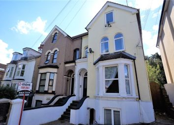 Thumbnail 1 bed flat to rent in Vicarage Road, Strood, Rochester