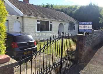 Thumbnail 3 bed bungalow for sale in Western Crescent, Tredegar, Blaenau Gwent