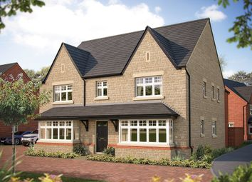"Thumbnail 5 bed detached house for sale in ""The Ascot"" at The Crescent, Flore, Northampton"