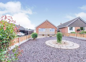 Thumbnail 3 bed detached bungalow for sale in Arbor Road, Croft, Leicester