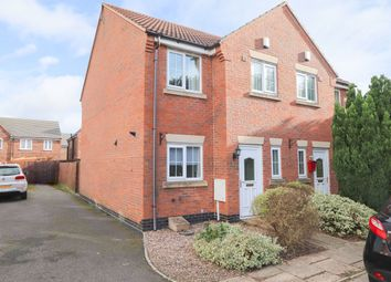 Thumbnail 3 bed semi-detached house to rent in Rose Gardens, Arkwright Town, Chesterfield