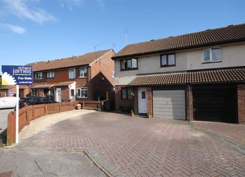 Thumbnail 3 bed semi-detached house for sale in Chandos Close, Grange Park, Swindon
