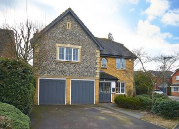 Thumbnail 5 bed detached house for sale in Catlin Gardens, Godstone