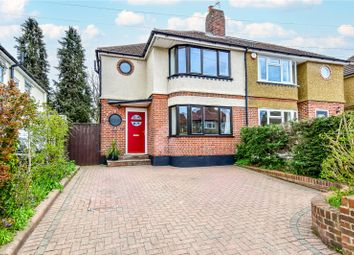 Thumbnail 3 bed semi-detached house for sale in Winton Drive, Croxley Green, Herts