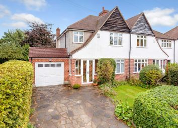 Thumbnail 3 bed semi-detached house for sale in Greenhayes Avenue, Banstead