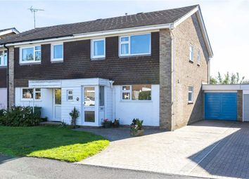 Thumbnail 3 bed semi-detached house for sale in Chequers Park, Wye, Ashford