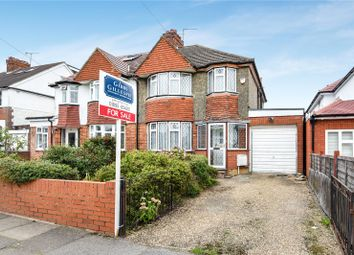 Thumbnail 3 bedroom semi-detached house for sale in Windermere Avenue, Eastcote, Middlesex