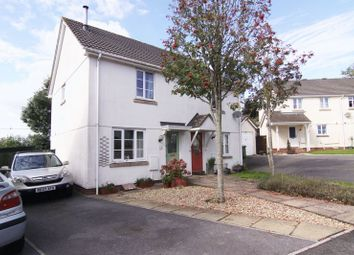 Thumbnail 2 bed semi-detached house for sale in Westcots Drive, Winkleigh