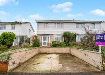 Thumbnail 3 bed semi-detached house for sale in Medway Road, Dartford