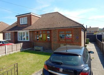 Thumbnail 3 bedroom semi-detached bungalow for sale in Second Avenue, Farlington, Portsmouth