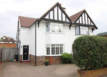Thumbnail 3 bed semi-detached house for sale in Orchard Gardens, Epsom