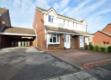 Thumbnail 3 bed semi-detached house for sale in The Beeches, Moreton, Wirral