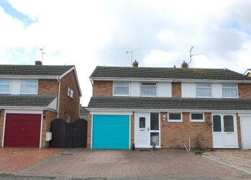 Thumbnail 3 bed semi-detached house for sale in Tarragon Close, Tiptree, Colchester