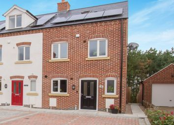 Thumbnail 3 bedroom end terrace house for sale in Grewcocks Place, Earl Shilton, Leicester