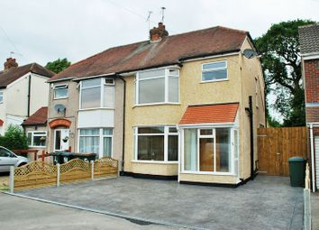 Thumbnail 3 bed semi-detached house for sale in Fir Tree Avenue, Tile Hill, Coventry