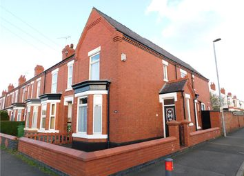 3 bed end terrace house for sale in Stewart Street, Crewe, Cheshire CW2