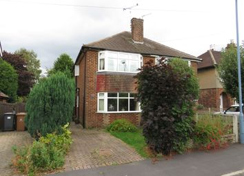 Thumbnail 2 bed semi-detached house for sale in North Avenue, Mickleover, Derby