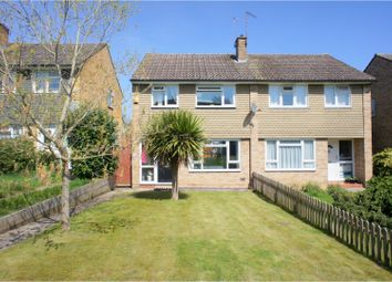 3 bed semi-detached house for sale in Gloucester Road, Bagshot GU19