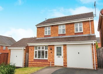 Thumbnail 3 bed detached house for sale in Horseshoe Drive, Cannock