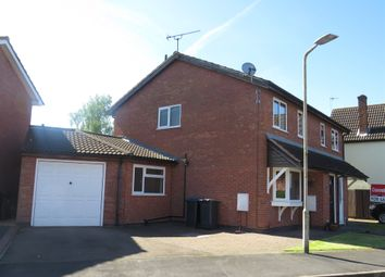 Thumbnail 3 bed semi-detached house for sale in Brascote Road, Hinckley