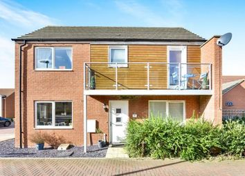 Thumbnail 3 bed detached house for sale in Eaton Hall Crescent, Broughton, Milton Keynes