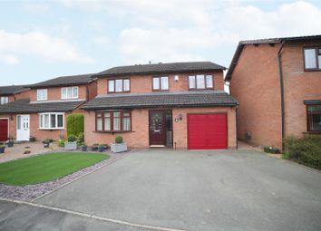 Thumbnail 4 bed detached house for sale in Gains Avenue, Bicton Heath